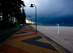 Stormy Weather #2 (Robert Brindley) Tags: sky storm beach weather clouds sydney botanybay brightonlesands