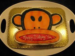 Tom's cheeky monkey cakes