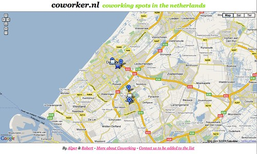 Coworker.nl - Coworking spots in The Netherlands