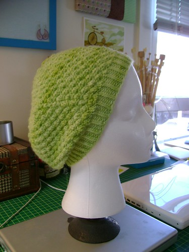 Trinity Stitch Hat (tons of pix!) *Now with Pattern!* - KNITTING
