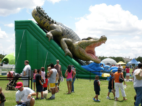 Chicago Inflatable Slide Rental - King Croc