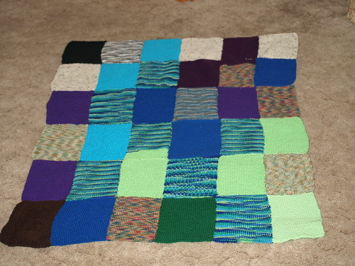 Linus Project blanket #1  2008