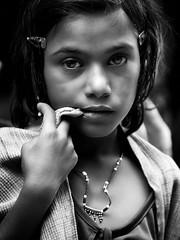 (massimo sbreni) Tags: life portrait people blackandwhite bw india asia bn pushkar napoji massimosbreni