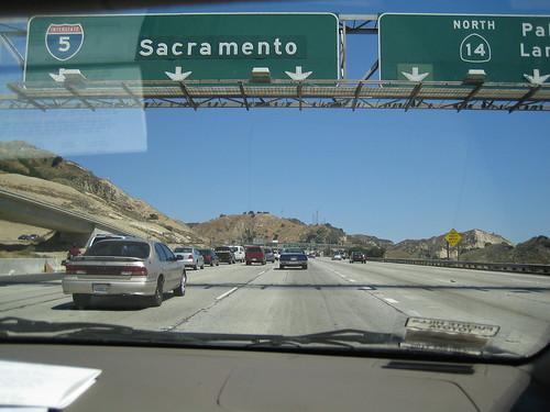 LA->SF 沿途風景1