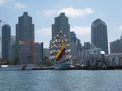 Tall ships, San Diego bay (Suzi Rozi) Tags: sandiego tallships sandiegobay