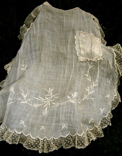 historic apron edwardian