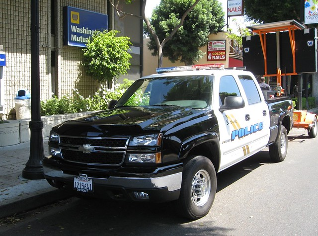 chevrolet truck police burbank emergency lawenforcement