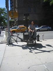 googlemaps bike (kateshanley) Tags: street camera new york city ny bike america hardware google san waiting googlemaps view juan tricycle maps hill laser parked sick