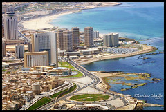 Tripoli City, Libya (Bashar Shglila) Tags: pictures city tower hotel photo al view photos pics aircraft capital picture aerial hotels dat libya tripoli cessna   emad fatah   libyen    lbia libi libiya  liviya  libija bentaher     5adkw   lbija  lby libja lbya liiba livi