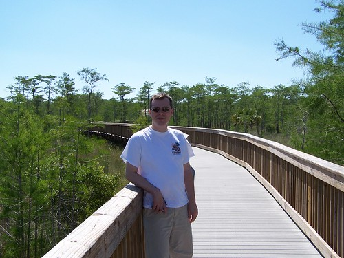 Hike the trails in Everglades N