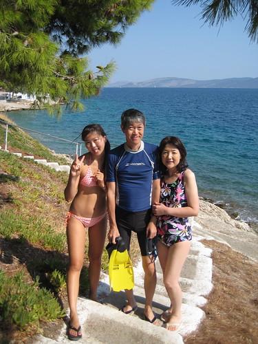 Greece 2008 mit papa und mama