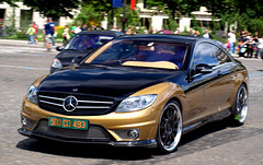 Carlsson CK65RS Eau Rouge (GHG Photography) Tags: black paris france gold mercedes carlsson ck65rs