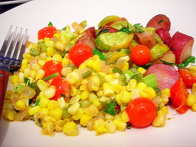 Recipe corn maque choux