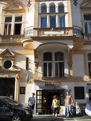 Downtown Backpacker Hostel Entrance