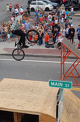DSC_0014 (firephoto25) Tags: autumn ny d50 jump nikon bmx mainstreet freestyle ramp village livonia xdreams