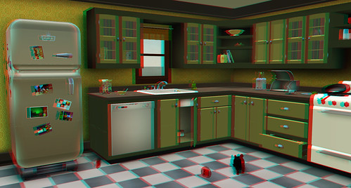 Stereo 3D Viewer for Second Life - Greenies Kitchen