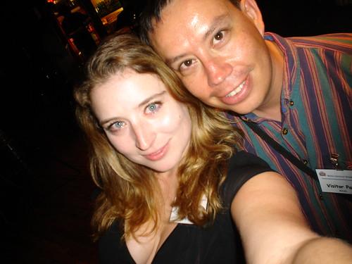 Rebecca and myself by Raul P.