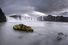 Goafoss (Andri Elfarsson) Tags: desktop trip travel wallpaper vacation art apple nature river landscape iceland highresolution imac fineart fisheye waterfalls gods icelandic godafoss potofgold andri niceland freedesktop freewallpaper golddragon skjlfandafljt mywinners aspect1610 pprowinner elfarsson waterfallsofthegods visipix mercadder