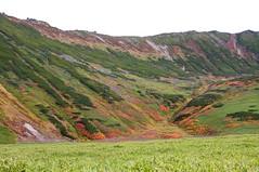 当麻岳の裾野