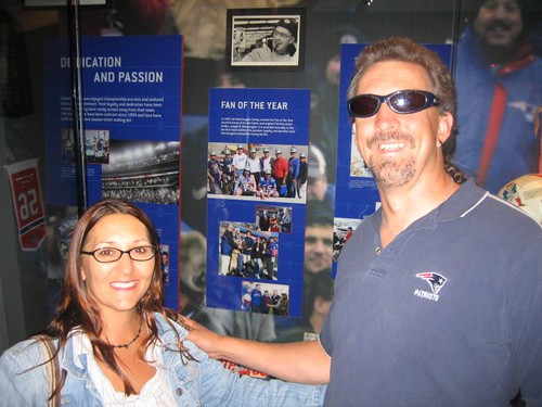 Karen & Zip at The Hall at Patriot Place
