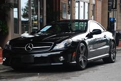 Mercedes SL63 AMG (tmann) Tags: new black sports car monster speed mercedes slick jet fast super exotic rocket brand 130 000 coupe amg horsepower 130k sl63