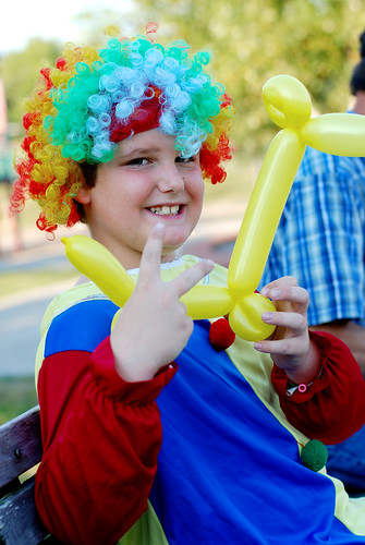 The clown at the park 2