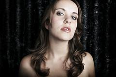 Anila (Lucy Williams Photography) Tags: uk portrait england woman london girl beautiful beauty fashion bigeyes flash longhair backdrop lucywilliams lucywilliamsphotography lwilliamsphotography