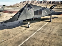 F-117A OPT'd (planephotoman) Tags: ho lockheed 798 hollomanafb f117a nellisafb stealthfighter aviationnation05 wenspics 81798 49fw aviationnation2005 8fs optprocess overprocesstechnique optimalprocessedtechnique 8110798 2005aviationnation article798