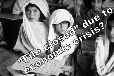 Financial crisis causing a humanitarian crisis?