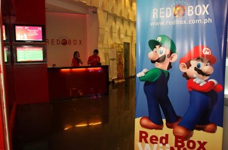 Wii Party RedBox