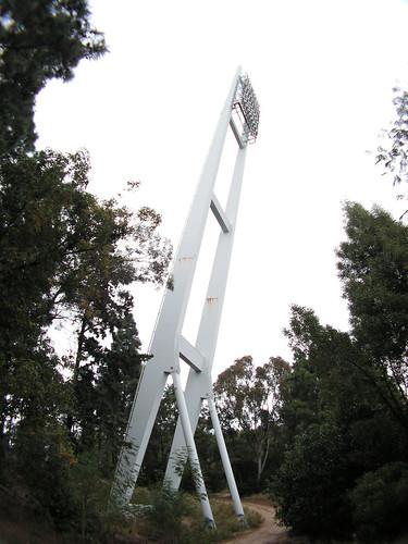 Torre de iluminação do Estádio Nacional do Jamor