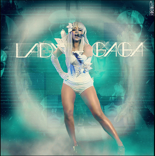 Lady GaGa: Touch Of Heaven by Santiago (ice/M).
