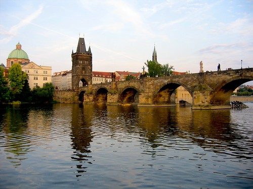 Charles Bridge Reflection