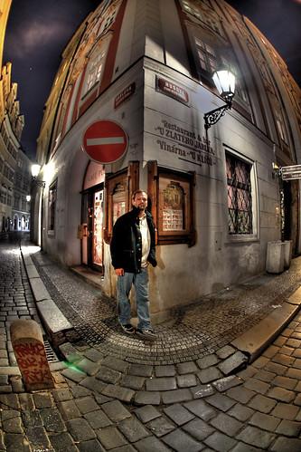 Steve in Praha 1