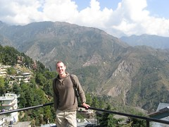 Me in McLeod Ganj (andrewsimpson83) Tags: india asia mcleod