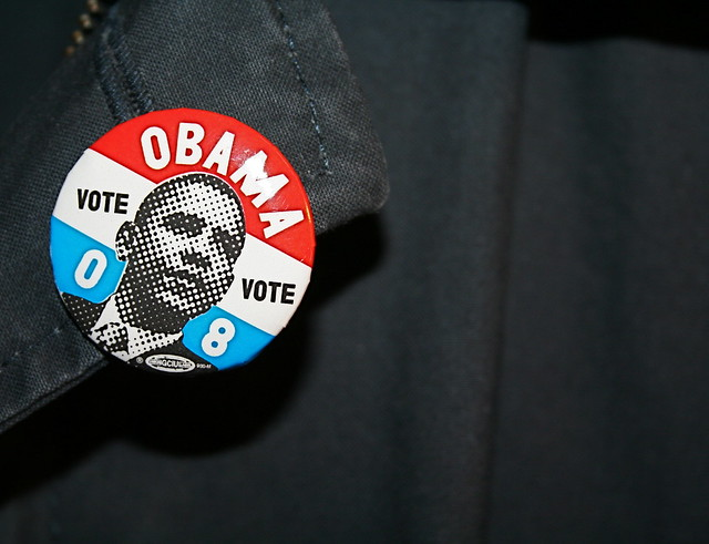 Image of Obama '08 button