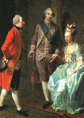 The Archduke Maximilian of Austria visiting Marie Antoinette and Louis XVI, Kings of France, 1775/76 (maisondecouture) Tags: versailles marieantoinette archduke louisxvi habsburg kingoffrance queenoffrance