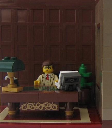 Lego Barristercustom minifig's office