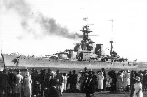 HMS Hood 1924