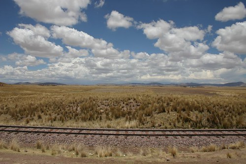 Altiplano cycling near Juliaca...