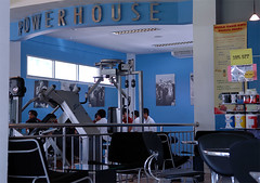 Powerhouse Gym, Chiang Mai - click on pic for full-size image