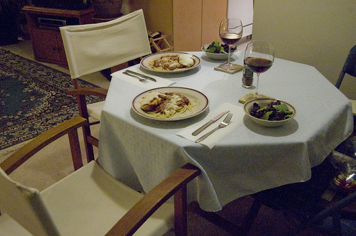 310/366: dinner for two