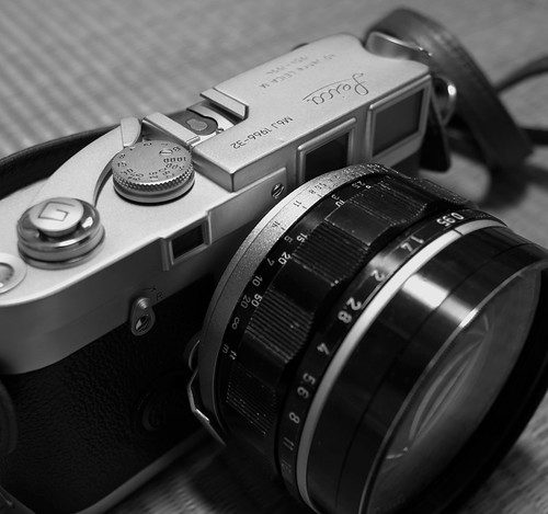Leica M6J + Canon 50mm F0.95