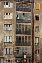 belgrade windows # 2 (chirgy) Tags: windows brown architecture concrete geometry shapes nikond50 trips belgrade renovation derelict viewfromawindow interestingness223 i500 blimey1618042009 ourworld2009