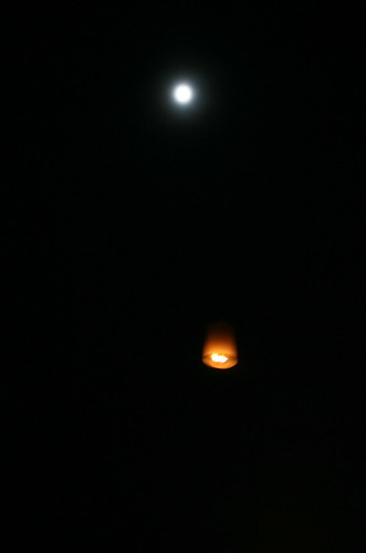 A kome Loy and the full moon