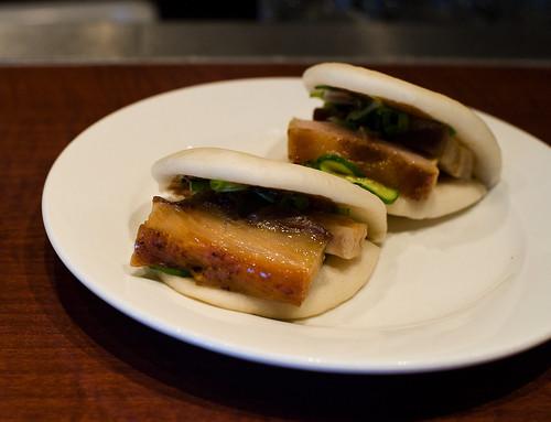Pork buns at Momofuku Ssam