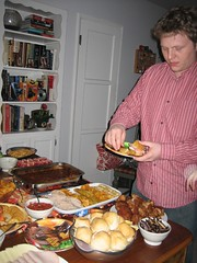 Matt going for thirds. (03/05/2006)