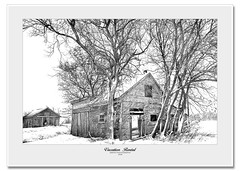 For Rent (Imapix) Tags: winter house snow cold photo photographie rustic rental rent onwhite deserted abandaoned imapixphotography gatanbourquephotography