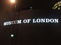 Museum of London at night