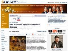 Citizen Journalism in Mumbai Terrorist Attacks CBS News
